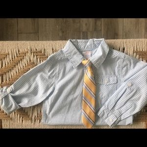 Dress shirt & (2) ties bundle
